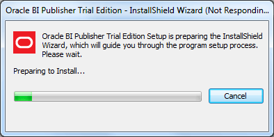 Oracle BI Publisher 11g Trial Edition - Installation