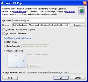 Generating a PDF File Using Oracle ADF - Aptude IT