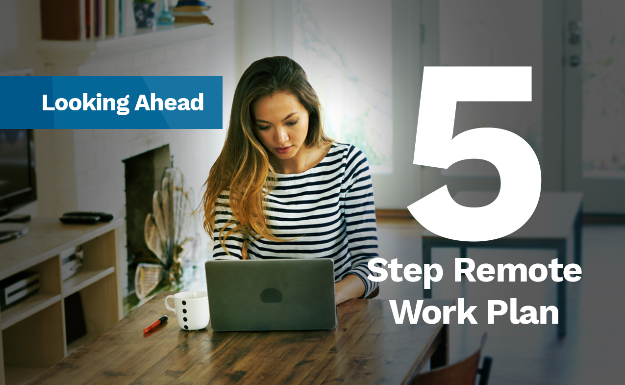 5 Step Remote Work Plan