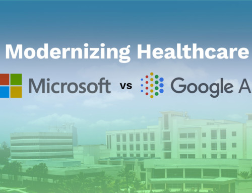 Modernizing Healthcare: Google AI vs. Microsoft AI (US Healthcare Will Reach 10 Trillion by 2022)