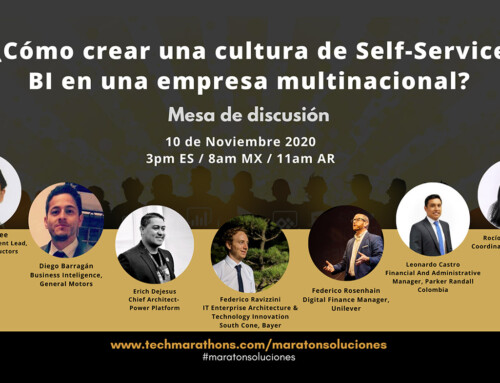 Discussion with Erich DeJesus: How to Create a Culture of Self-Service BI in a Multinational Company?