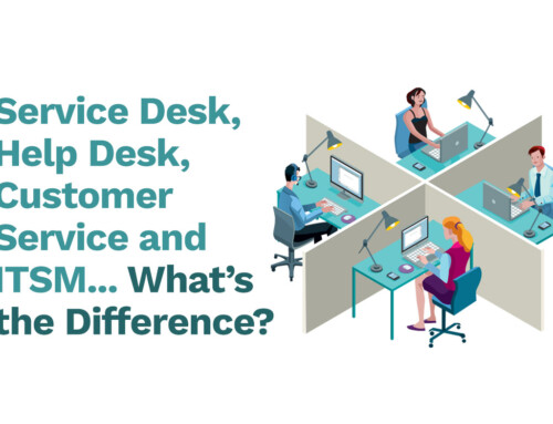 Service Desk, Help Desk, Customer Service, and ITSM – What's the Difference?