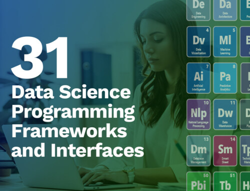 31 Data Science Programming Frameworks and Interfaces