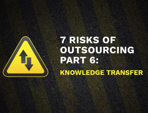7 Risks of Outsourcing Part 6: Knowledge Transfer